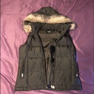 Maurice's hooded bubble vest